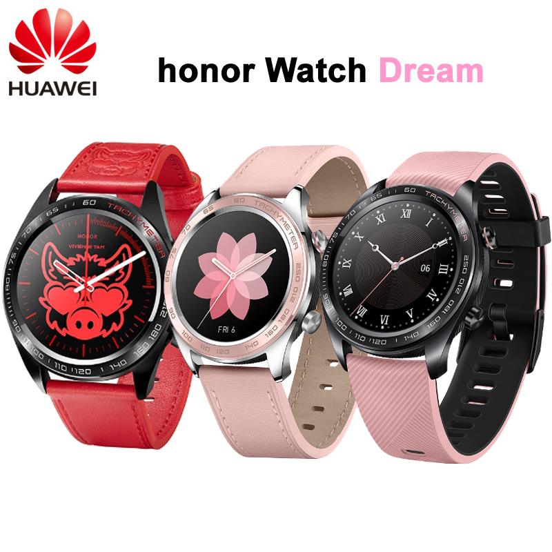 New Huawei Honor Watch Dream Smart Watch Sport Sleep Run Cycling Swimming mountain GPS 1 2