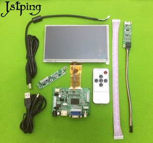 Jstping 7 дюймов 1024*600 HD Высокое разрешение E231732 ЖК-монитор плата управления драйвер HDMI + VGA + 2AV сенсорный экран дисплей Панель комплект