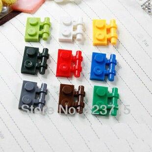 Free Shipping!2540 50pcs*Plate 1X2 W. Stick* DIY Enlighten Block Bricks,Compatible With Assembles Particles