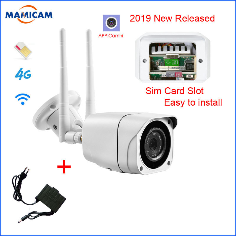 Outdoor 3G 4G SIM Card font b Camera b font Full HD 1080P Wireless Wifi IP