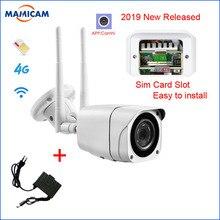 Открытый 3g 4G sim-карты Камера Full HD 1080 P Беспроводной Wi-Fi IP Камера пуля Водонепроницаемый видеонаблюдения Ночное видение P2P SD карты безопасности