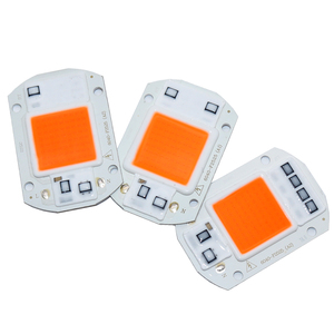 Image 2 - 100 pces ac110v 220 v cob led chip phyto lâmpada espectro completo 20 w 30 w 50 diodo led crescer luzes fitoampy para mudas interior