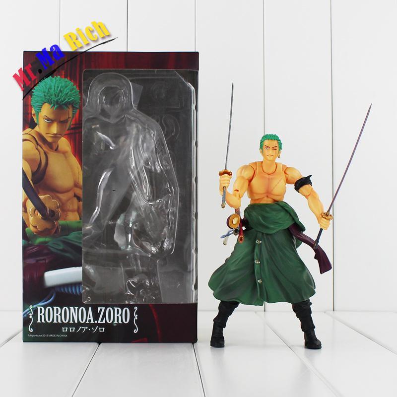 Roronoa Zoro Sauron une pièce trois-couteau flux épées Pvc Figure jouet avec boîte livraison gratuite
