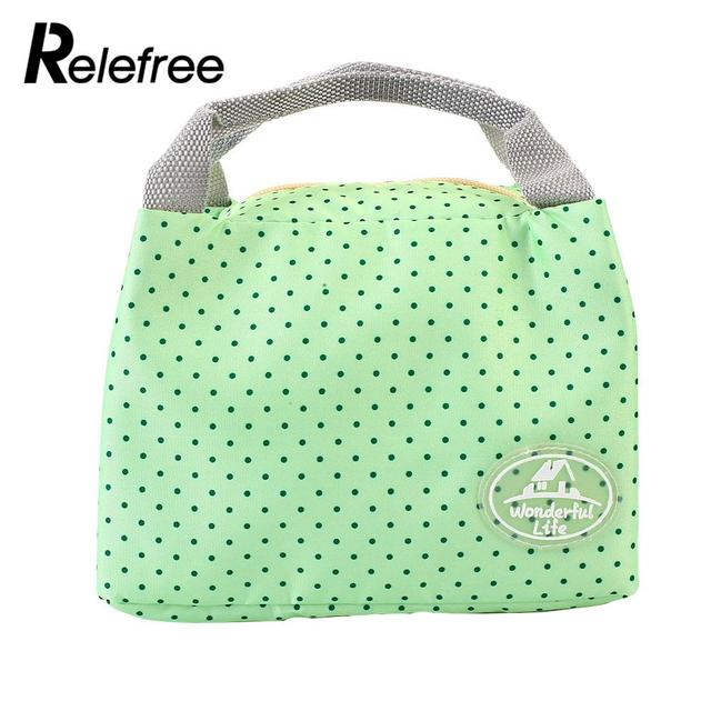 Handle Lunch Bag Insulated Thermal Cooler Travel Picnic Carry Tote Case Cute