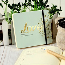 Love Diary Note Book Super Vintage Notebook Paper Sketch Art DIY Planner Journal Notepad School Office Stationery