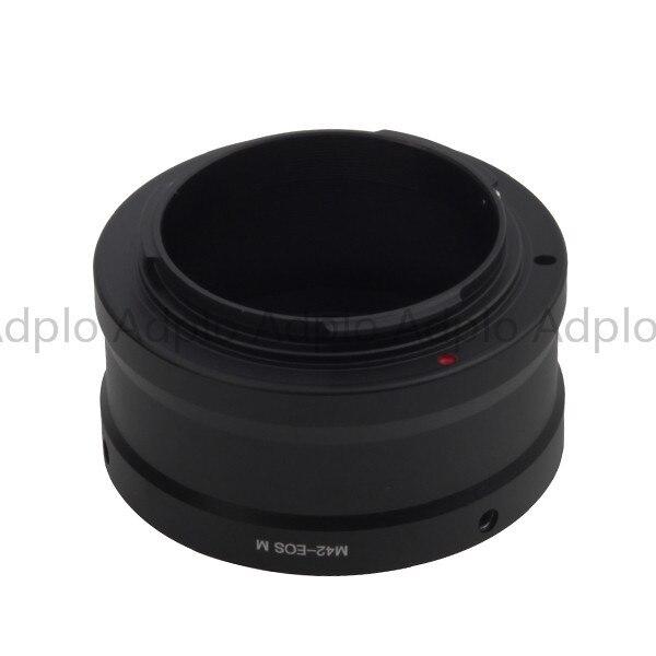 ADPLO 010707, Anzug Für M42-For Canon EOS M Digital Kamera, PRO Objektiv adapter für M42 zu EF/M