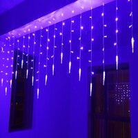 3.5x0.5/0.7led cadena Navidad luces de hadas guirlande lumineuse luces LED para fiestas cortina decoración de la boda