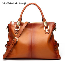 Women's Luxury Genuine Leather Handbag / Shoulder Bag