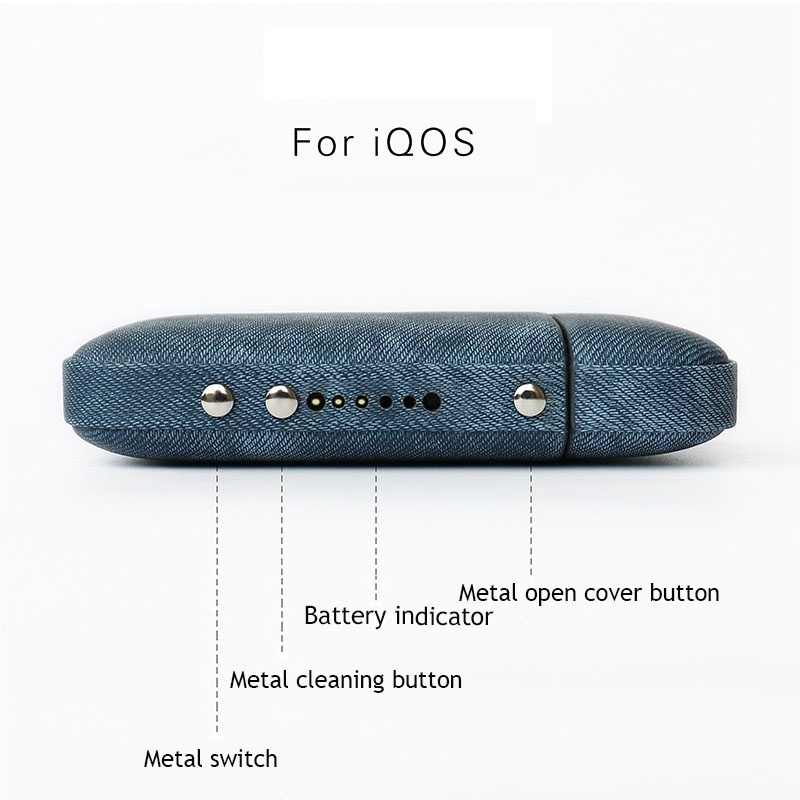 Kogngu Pouch for iqos 2 4 Plus Case Bag Carry Case Holder for iqos Cases  Leather Cover