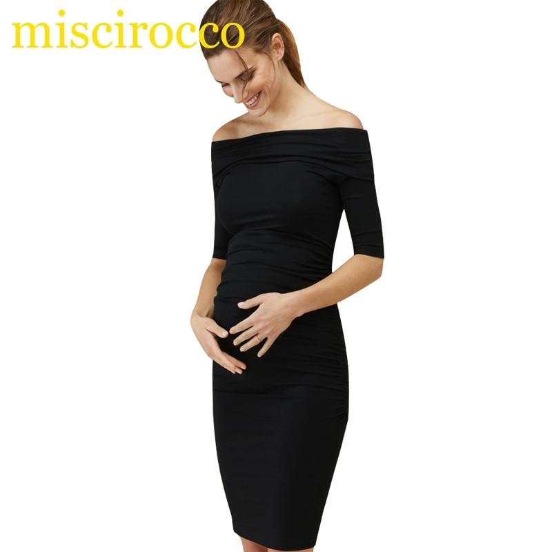 Hot Women's Dress Boat Neck Fancy Party Dinner Dress Pregnancy Maternity Clothes longoni fancy hot lips 4