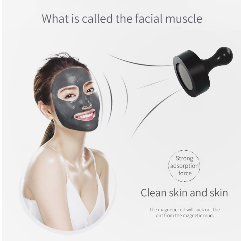 Face Cleansing Magnetic Mud Moisturizing Mask Brightening Skin Care Peel Off Mask deoproce o2 bubble brightening mask