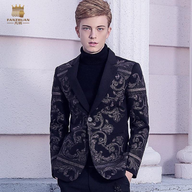 Original eco shearing leather jacket men short Designer cew collar motorcycle jacket wool lining Brand winter