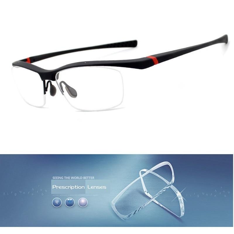 5ffee5a39d Vazrobe sports Glasses Men TR90 Prescription Optical Lens 1.56 1.61 1.67  Index Progressive Photochromic male myopia