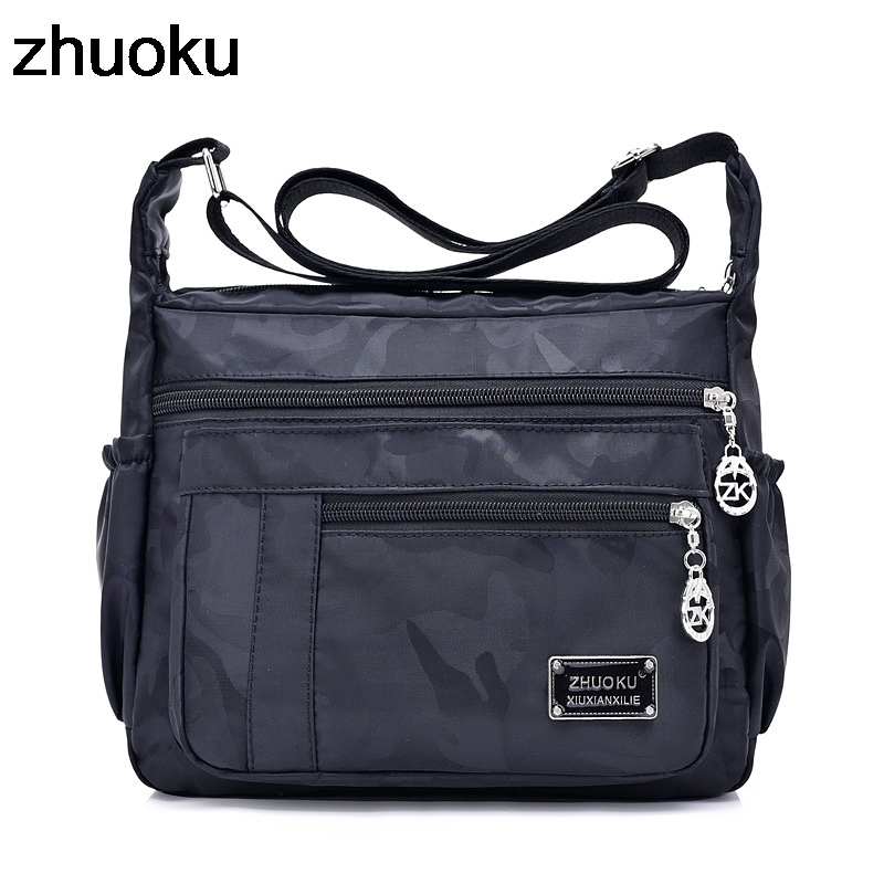 Female Crossbody Bags Handbags Women Famous Brand Nylon Casual Messenger Shoulder Bag Bolsa Feminina Sac A Main 2018 famous brand women leather handbags ladies messenger bags female shoulder crossbody bag bolsa feminina sac a main