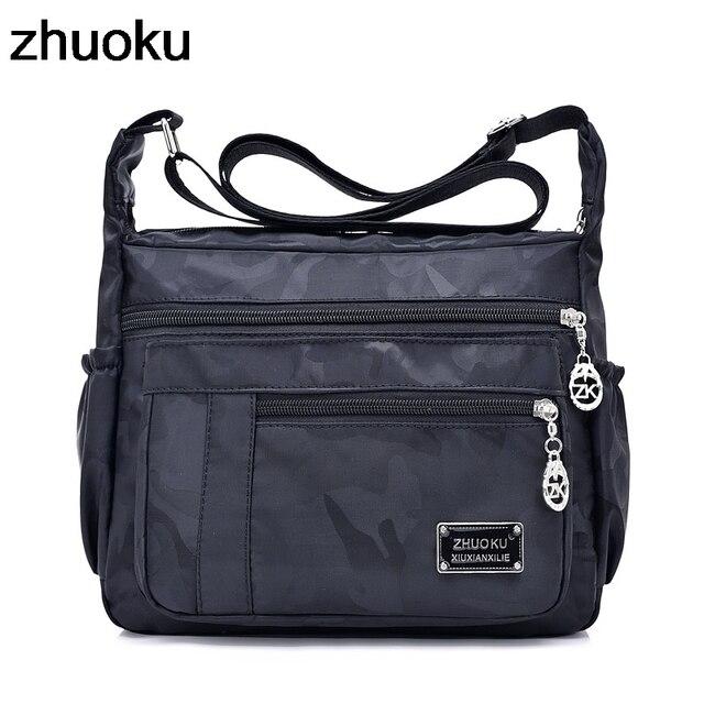 4bf7185fe545 Female Crossbody Bags Handbags Women Famous Brand Nylon Casual Messenger  Shoulder Bag Bolsa Feminina Sac A Main 2018