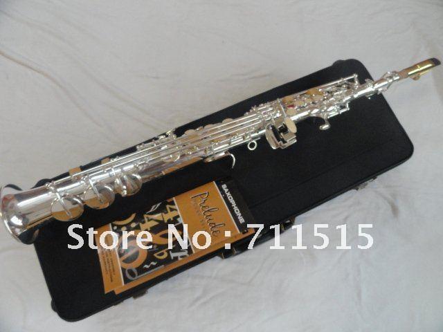 Selmer SS-750 Straight Pipe Soprano Silver Plated Sax Musical Instrument in B Flat Professional Saxofone двухкамерный холодильник позис rk fnf 172 r