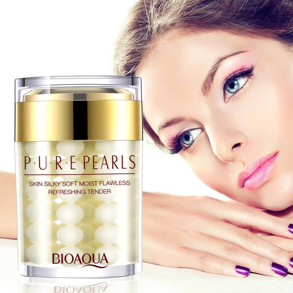 Pearls Face Day Creams & Moisturizer Whitening Anti Aging Anti Wrinkle Skin Whitening Cream Women Beauty Face Care TSLM2
