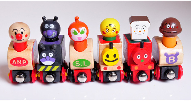 Anpanman Wooden Train Set