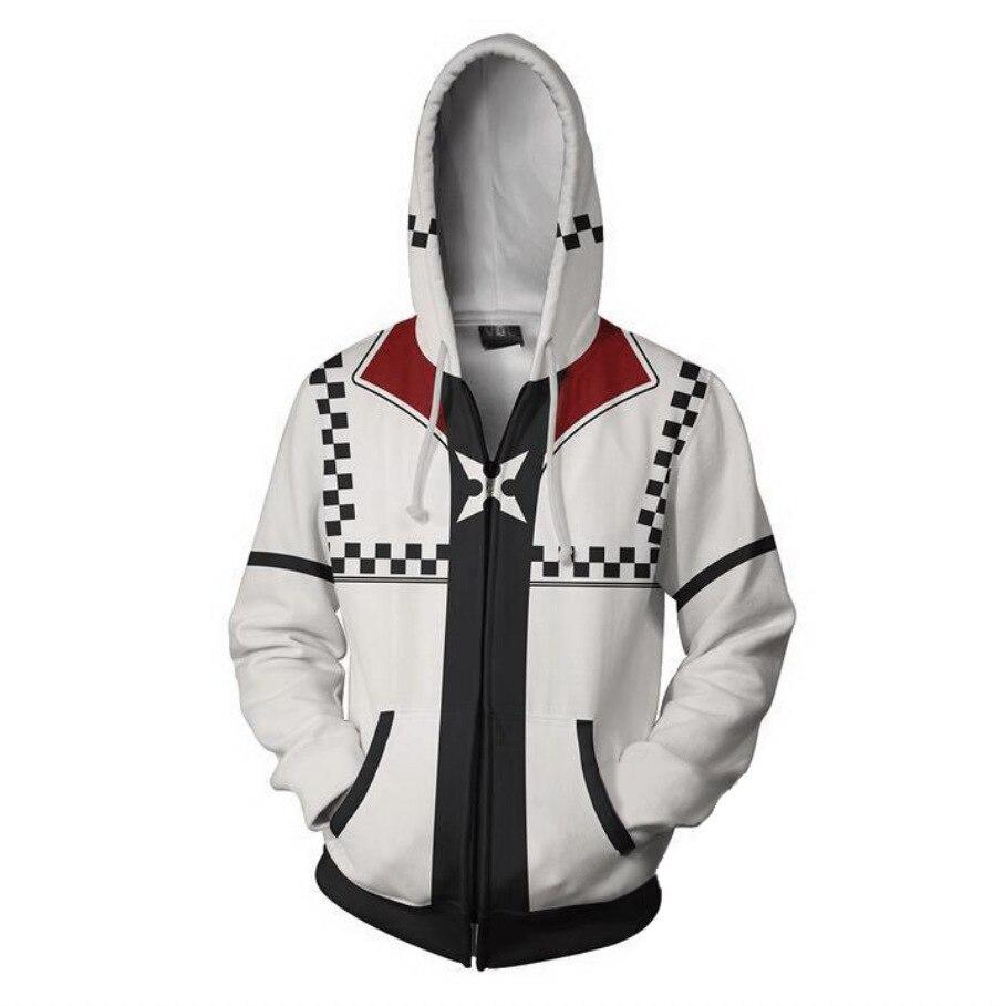 100% Wahr 2018 Neue Herbst Winter 3d Druck Kingdom Hearts Sweatshirts Hoodies Mode Cosplay Zipper Mit Kapuze Jacke Kleidung
