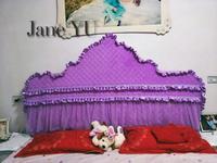JaneYU Estilo Princesa Cobertura de Cabeceira Personalizado Arco Europeu Old fashioned Pano de Cabeceira Tampa|Colcha| |  -
