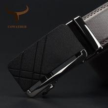 COWATHER Belt For Men Cow Genuine Leather Men