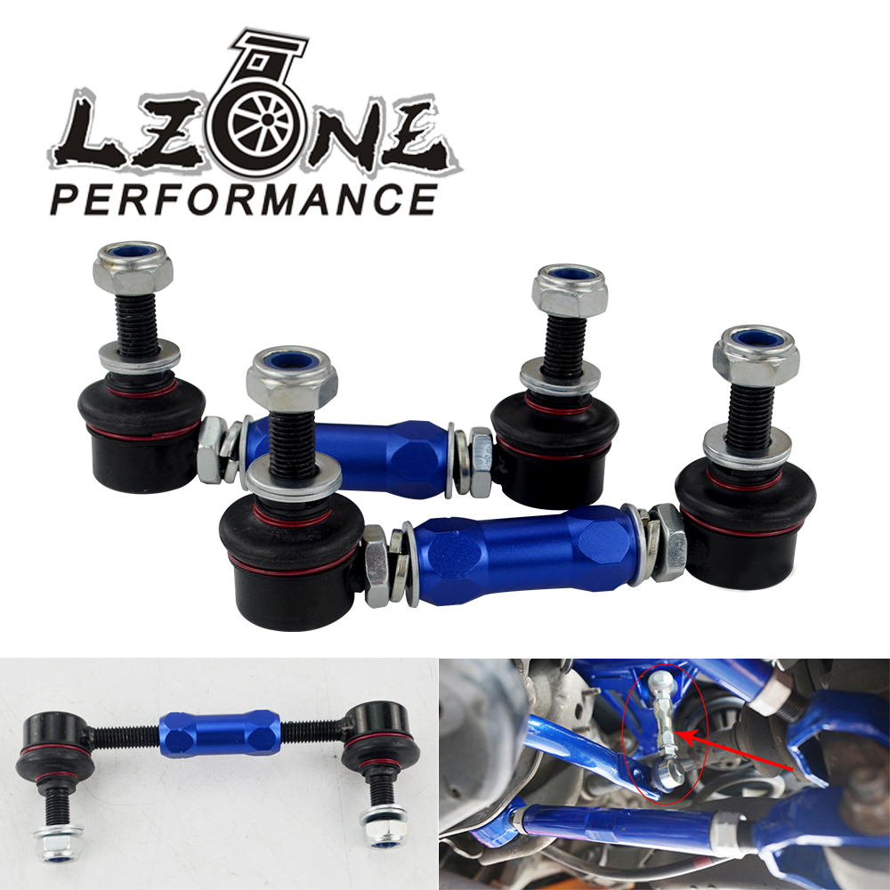 LZONE 100mm 120mm Ball Joint Adjustable Sway Bar End Link For BMW Honda Ford Toyota Holden HSV Mazda Mitsubishi Nissan SEL03