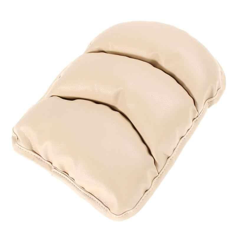 Araba kol dayama klozet kapağı yumuşak deri oto araç merkezİ konsol Arm Rest koltuk kutusu Pad koruyucu kılıfı yumuşak PU paspaslar yastık