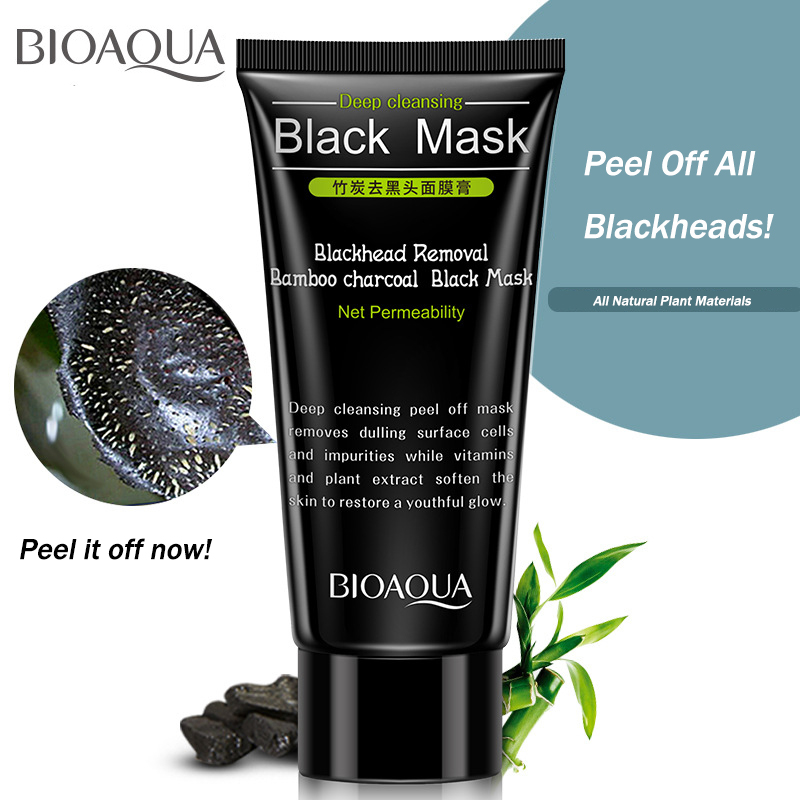 The Cheapest Price 1pcs New Charcoal Blackhead Removal Face Mask Deep Cleansing Mud Black Mask Acne Treatments Mask Blackhead Facial Mask Various Styles Skin Care
