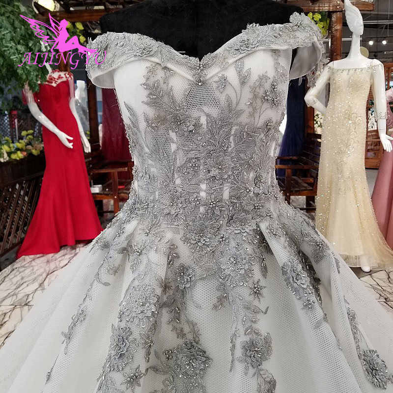 ... AIJINGYU White Wedding Gowns Hawaiian Gown Indian Branding Ball  Pictures Gypsy Dresses USA Plain Wedding Dress ... 2b12abdc5a27
