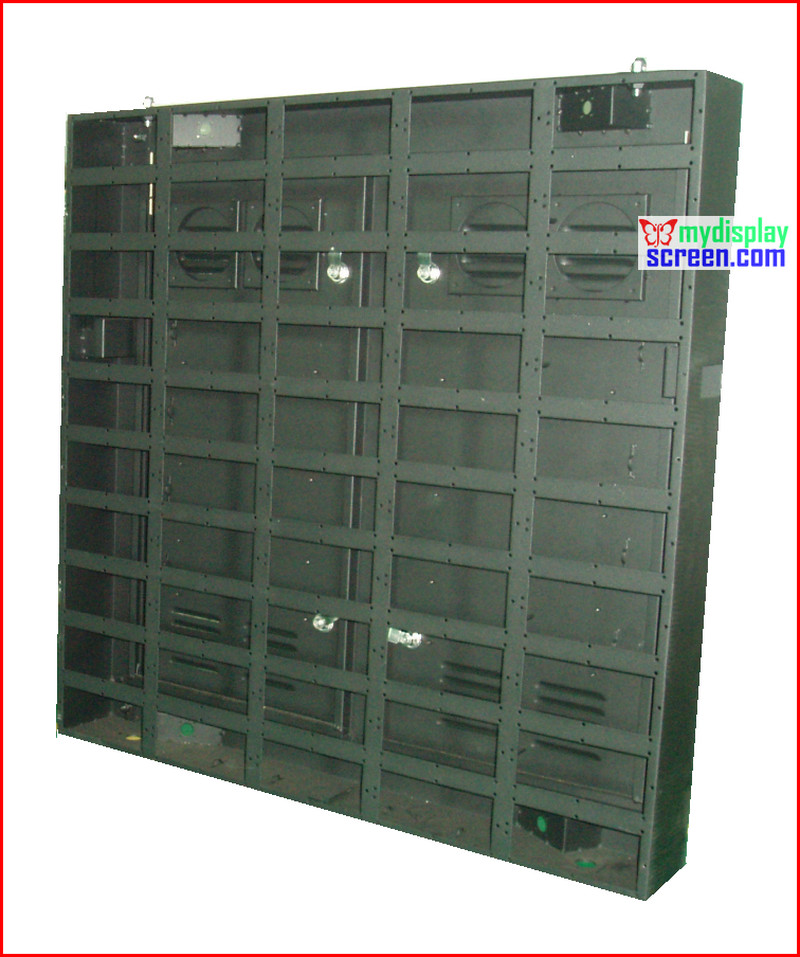 outdoor led display fix intall cabinet, customized size, can be used for all of module p5,p6,p8,p10,p16