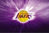 Free Shipping Basketball LA Lakers Logo Poster HD HOME WALL Decor Custom ART PRINT Silk Wallpaper