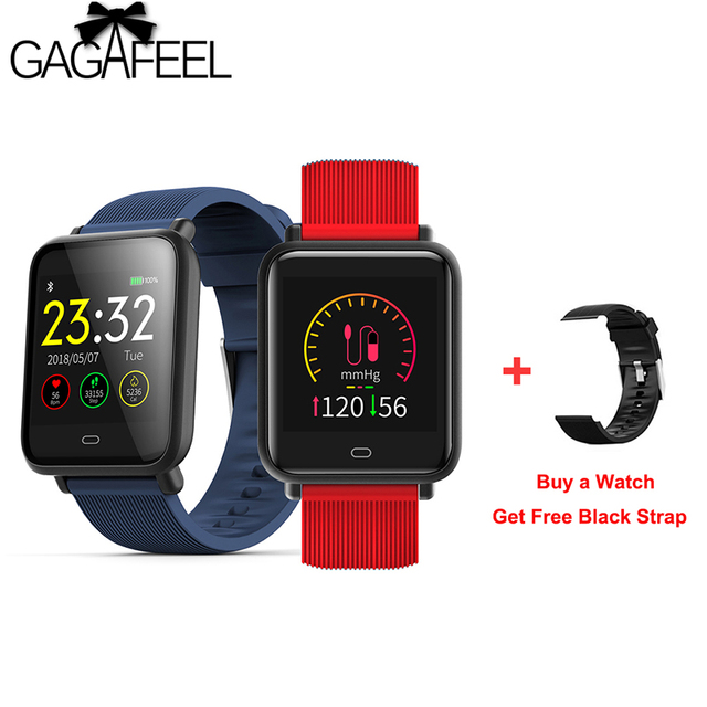 Q9 Smart watch Waterproof Sports for women men With Heart Rate Monitor Blood Pre
