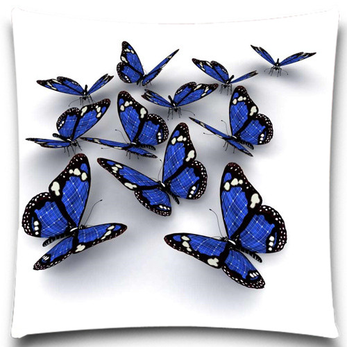 9 Styles 16 18 20 24 Inches Cotton Polyester Animals Cushion Cover Creative  Butterfly Pattern Day Gift Sofa Car Home Pillow Case