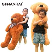 Plush-Toy Dolls Bear-Skin Christmas-Gift Cute Teddy Birthday Baby 80-100cm Kids Children
