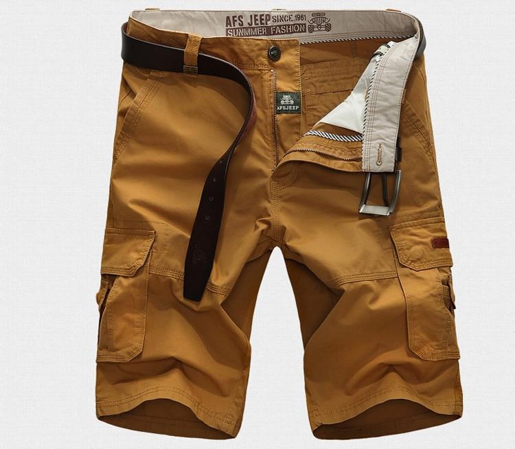 Pants Cargo-Shorts Trainning Outdoor Men Half-Trousers Militar Tactical Male Waterproof