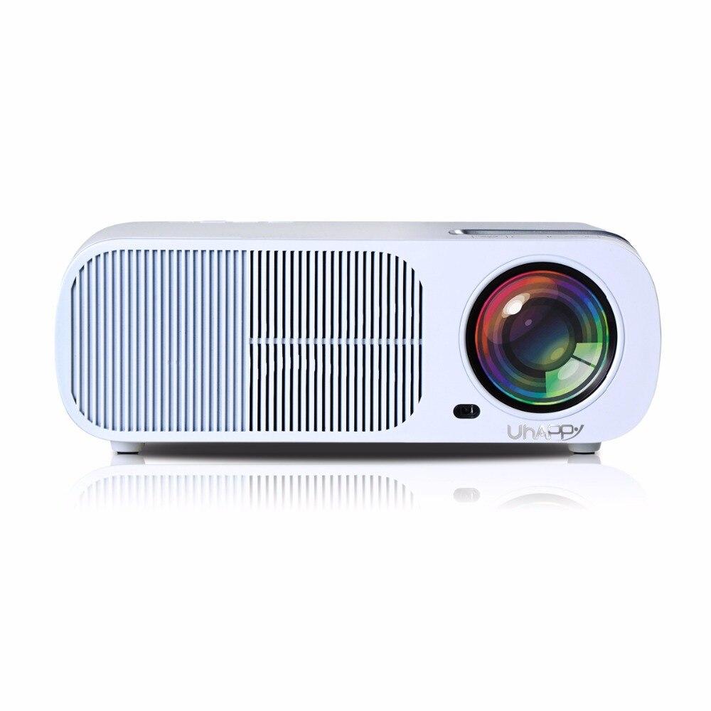 Uhappy bl20 s20 pro lcd led proyector full hd 1080 p 800*480 4000 Lúmenes Wifi B