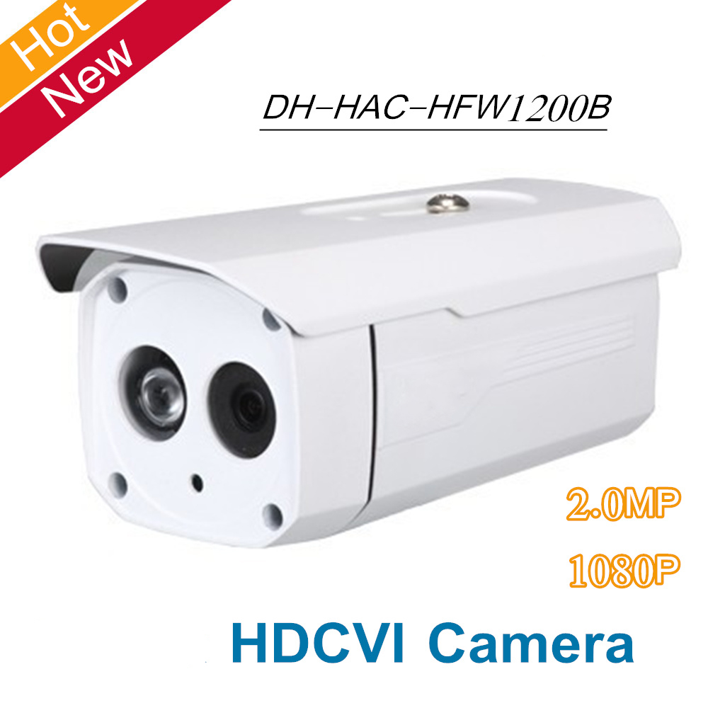 DH HDCVI Camera 2MP HD 1080P DH-HAC-HFW1200B Network IR Bullet Security CCTV Camera IP67 HAC-HFW1200B dahua outdoor indoor hdcvi camera dh hac hdw1100e 1mp hd network ir security cctv dome camera ir distance 40m hac hdw1100e ip67