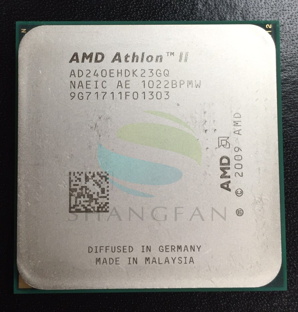 Free Shipping For AMD Athlon X2 240e X2 240E  2.8GHz Dual-Core CPU Processor  AD240EHDK23GM AD240EHDK23GQ   Socket AM3 938pin