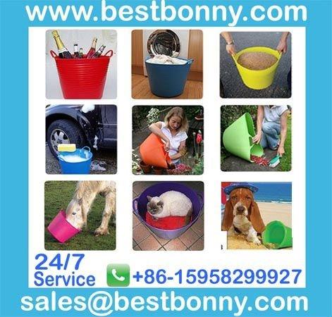 15L Eco-friendly Plastic PE bucket,wholesale price
