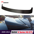 35i 50i stylish 30d 35d 40d 50d carbon fiber roof spoiler wing for bmw x series 2008 - 2013 pre-lci x6 e71 aerodynamic tuning