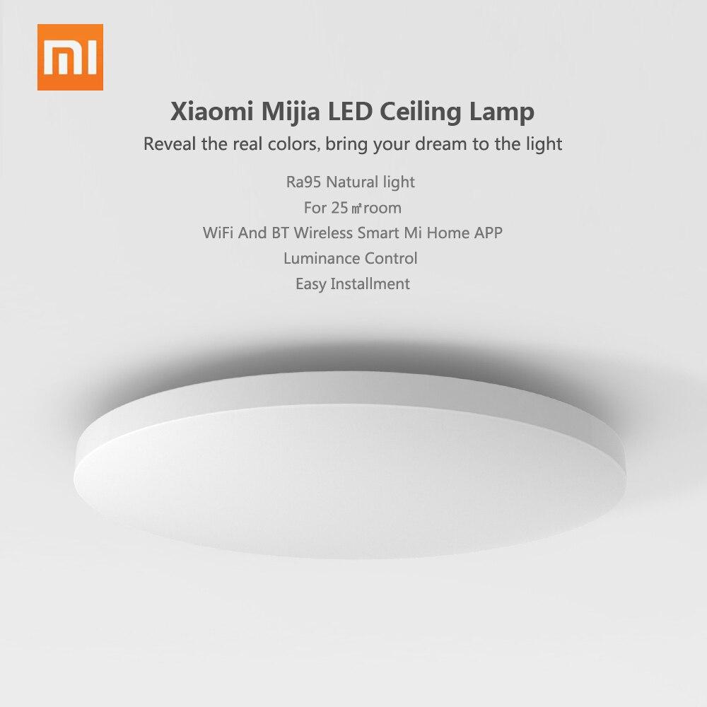 Original Xiaomi Mijia LED Ceiling Light Lamp IP60 Dustproof WIFI And BT Wireless Smart Mi Home