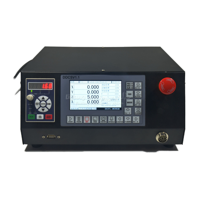 4axis independent CNC controller box offline control U disk read for engraving machine C00126 lme21 330c2 combustion program controller control box for burner control compatible