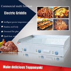 1 PC FY-900 ze stali nierdzewnej elektryczne patelni płaskim Pan elektryczny Grill Teppanyaki Dorayaki patelni maszyna do