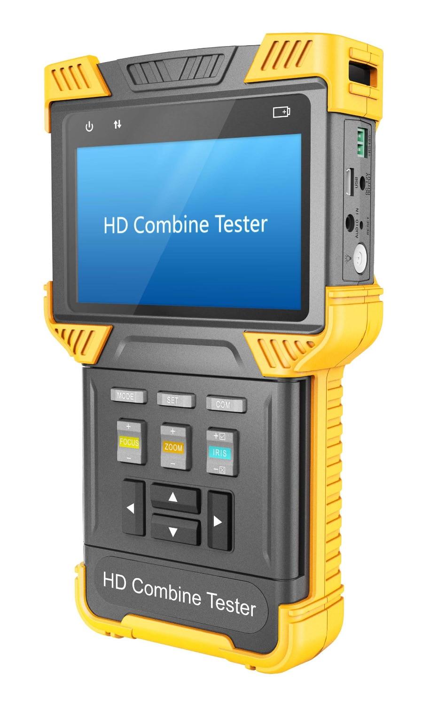 4 Inch H.265 4K IP CCTV Tester Monitor Analizor camera Tester Onvif - Securitate și protecție - Fotografie 2