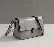 Jonon Small Vintage Genuine Leather Handbags Ladies Party Purses Clutch Bag Women Messenger Shoulder Crossbody Bags Bolsos