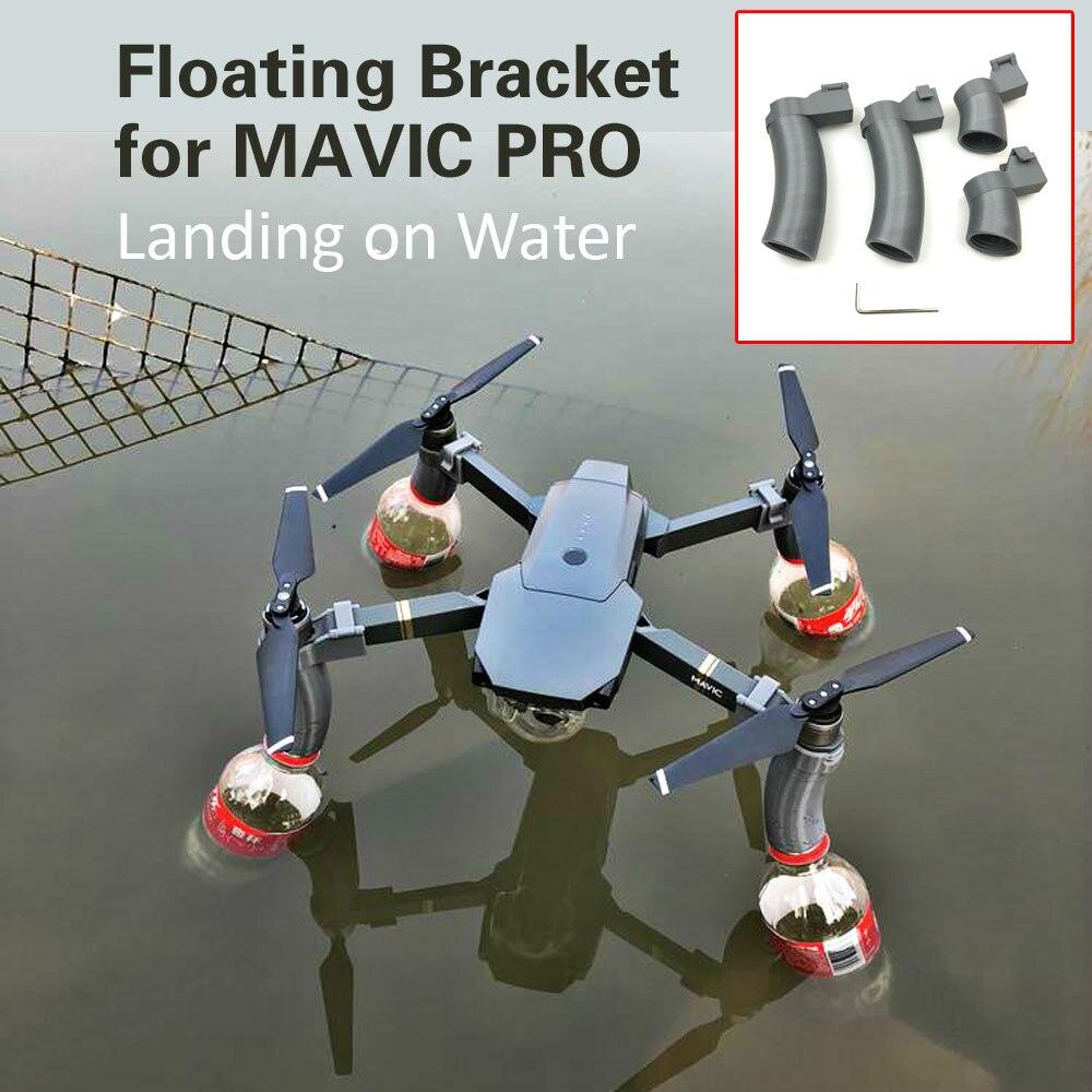 Atterrissage sur leau trains datterrissage patins support de flotteur accessoire imprimé 3D pour DJI MAVIC PRO