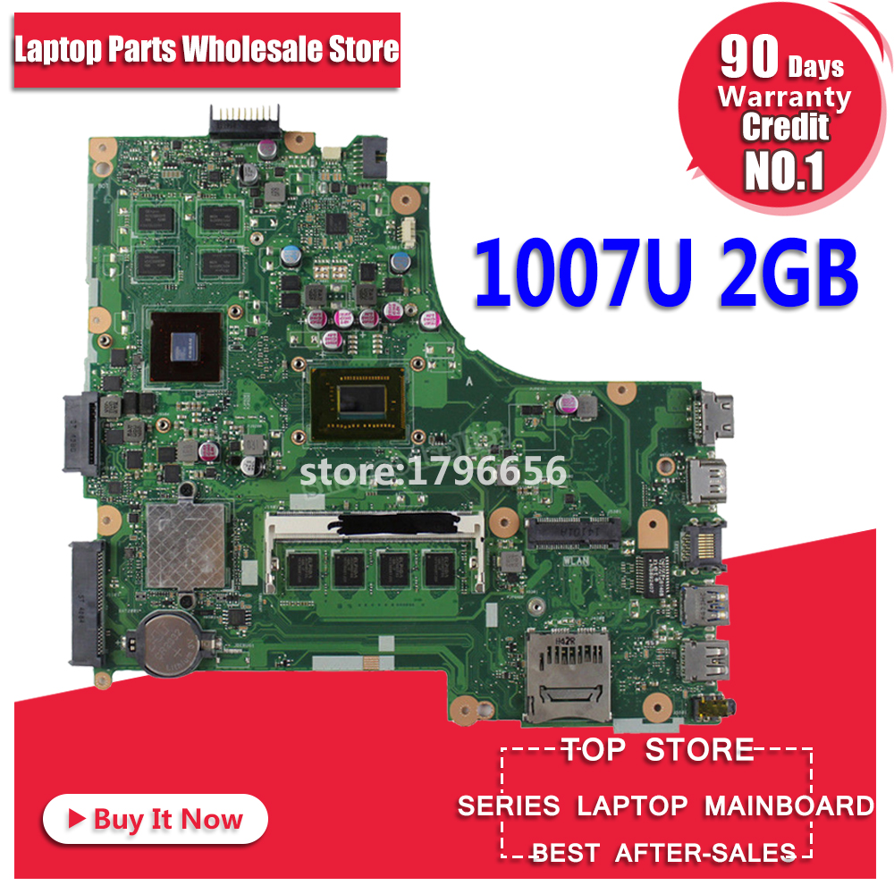 X450CC Motherboard 2GB RAM 1007U For ASUS X450CC X450V Y481C laptop Motherboard X450CC Mainboard X450CC Motherboard test 100% ok for asus x450cc laptop motherboard i3 3217u 2g video memory x450cc motherboard 4g ram rev2 3 100% tested