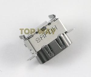 Image 1 - Piezas de repuesto para Puerto de HDMI 2,1 1080P, 10 unids/lote, Original, nuevo, para XBOX ONE X, reparación de la placa base