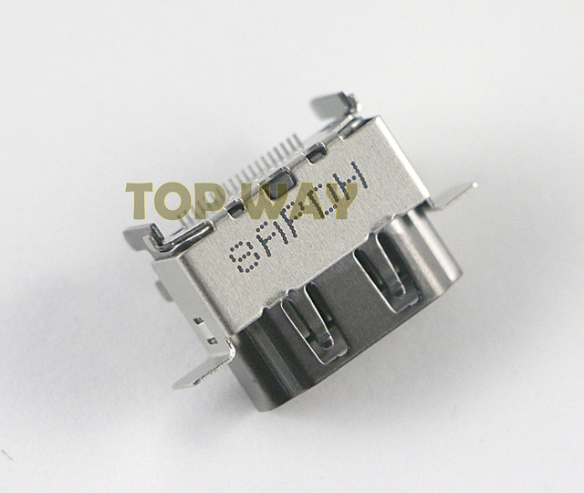 Piezas de repuesto para Puerto de HDMI 2,1 1080P, 10 unids/lote, Original, nuevo, para XBOX ONE X, reparación de la placa base