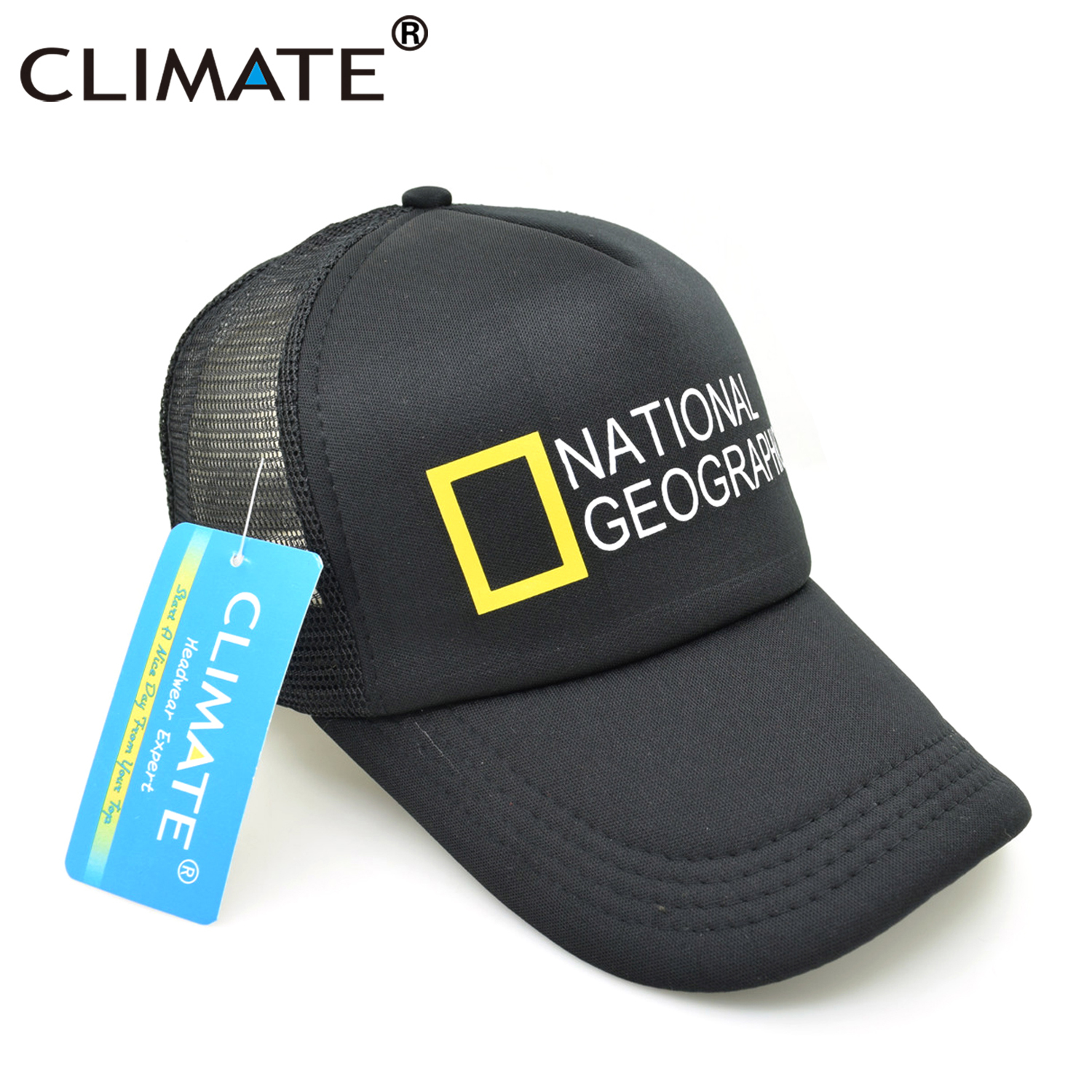 KLIMAAT Heren New Trucker Caps National Geographic Channel Hot Summer - Kledingaccessoires - Foto 3